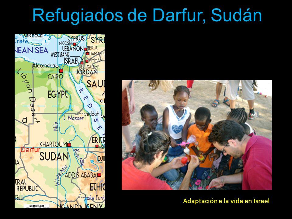 Refugiados de Darfur, Sudán