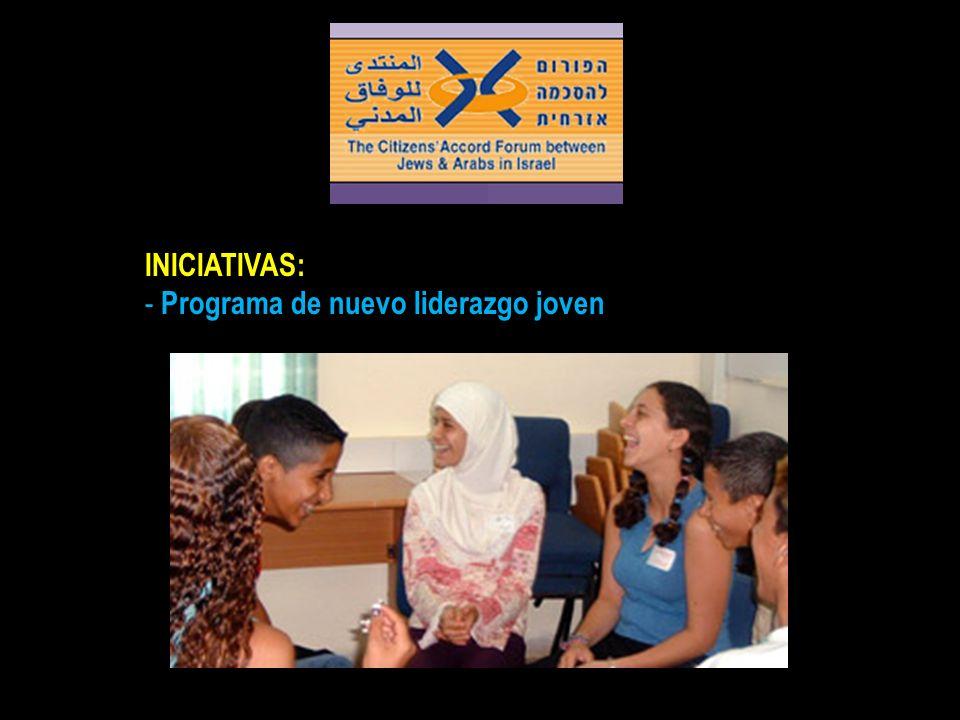 INICIATIVAS: Programa de nuevo liderazgo joven