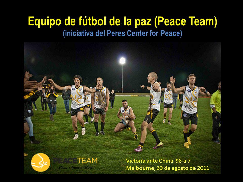 Equipo de fútbol de la paz (Peace Team)