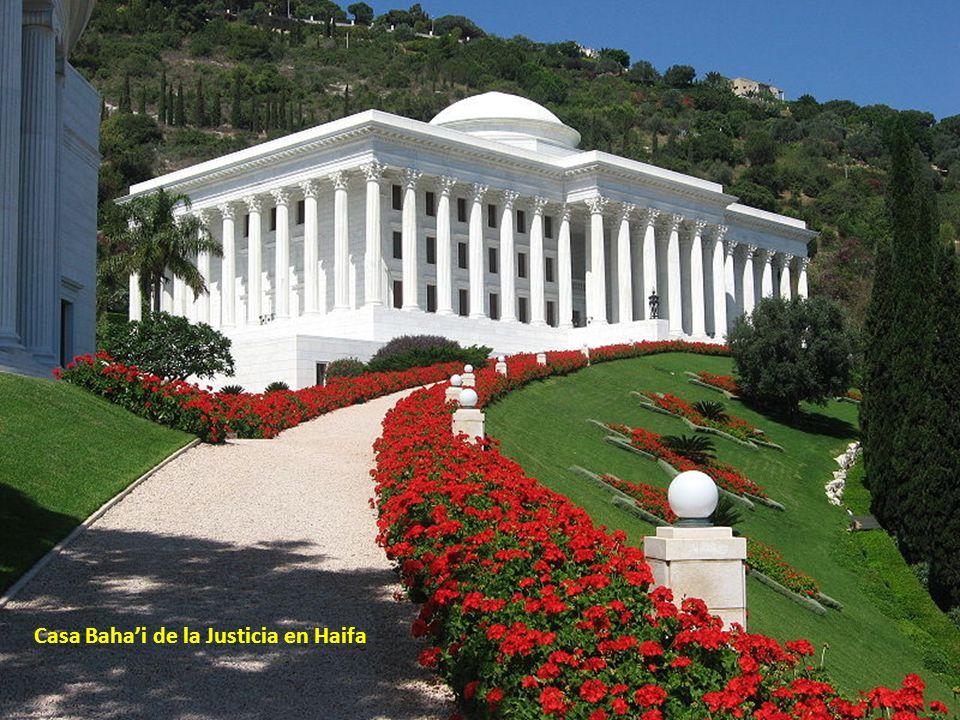 Casa Baha'i de la Justicia en Haifa