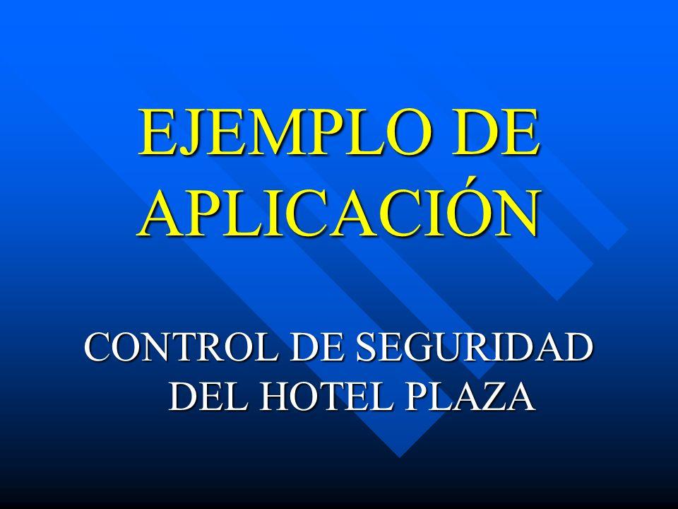 CONTROL DE SEGURIDAD DEL HOTEL PLAZA