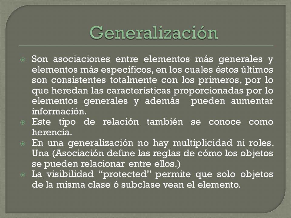 Generalización