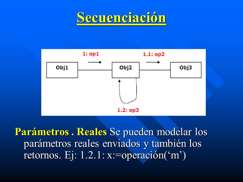 Secuenciación Parámetros .