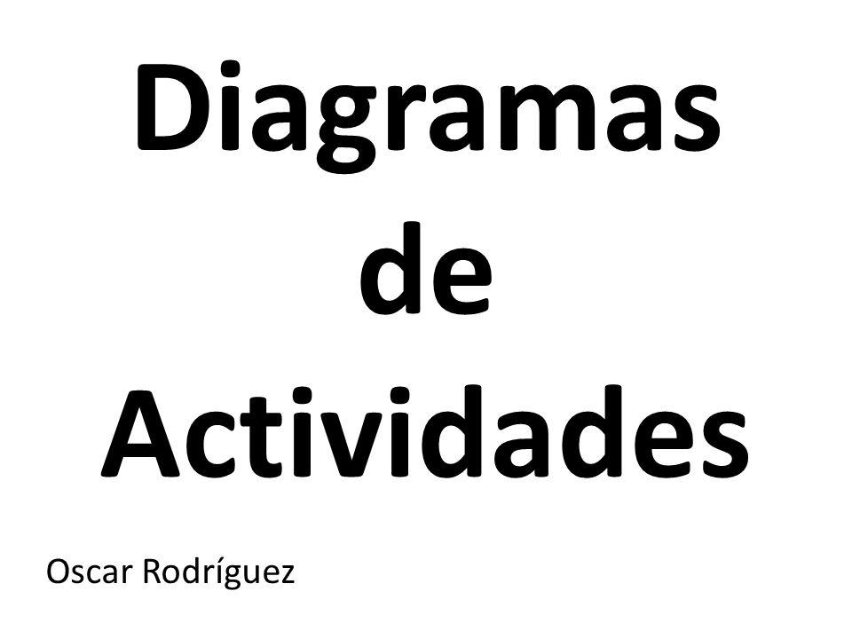 Diagramas de Actividades