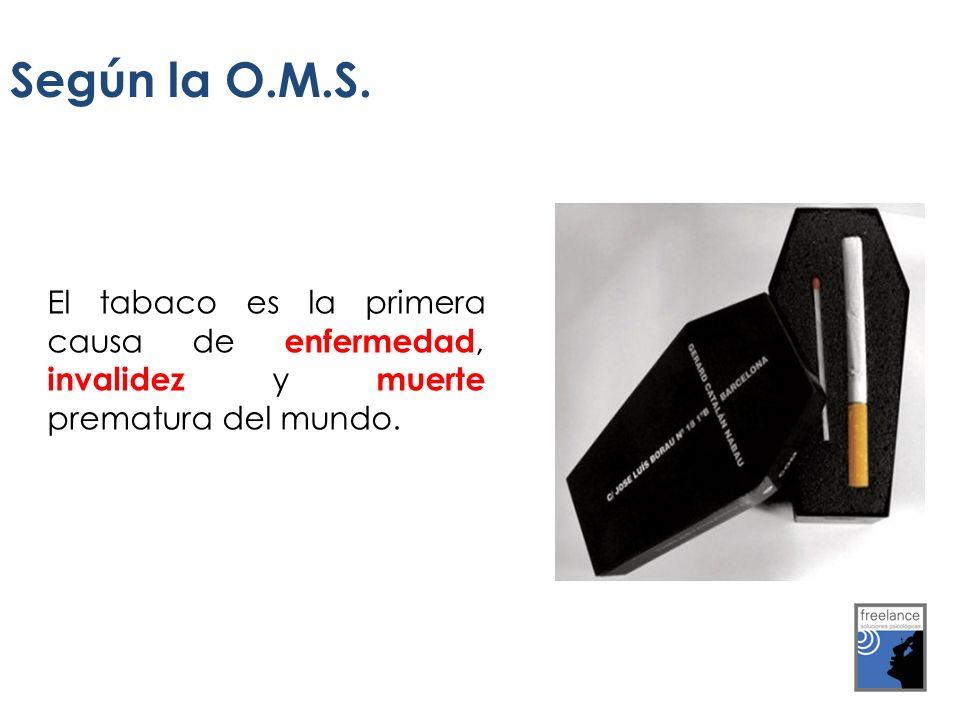 Según la O.M.S.