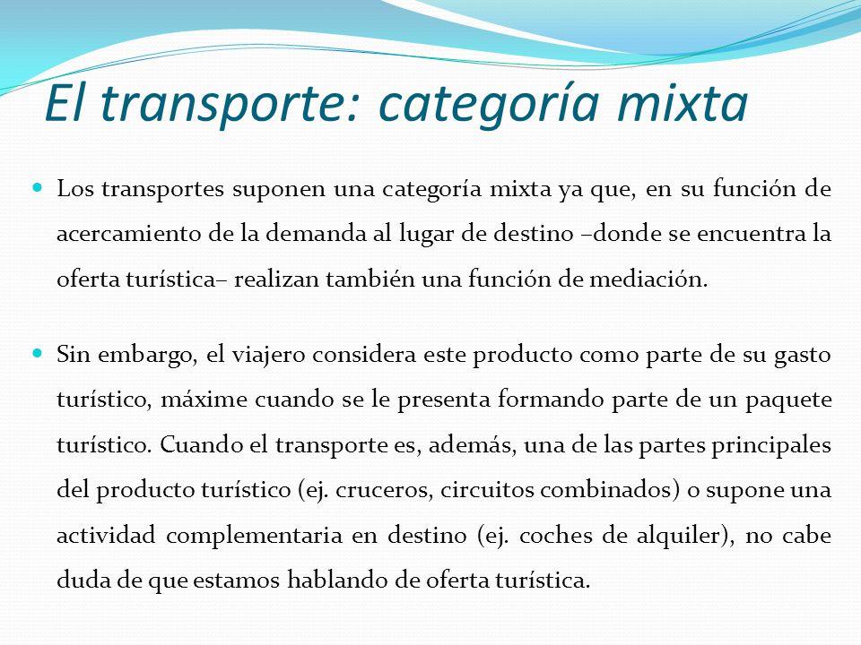 El transporte: categoría mixta