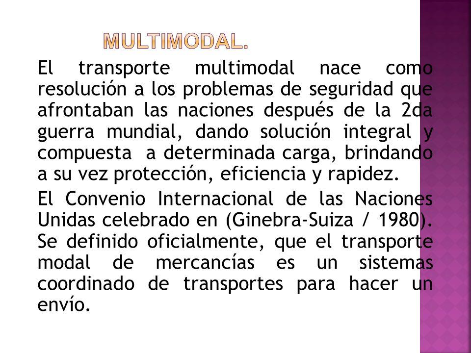 Multimodal.