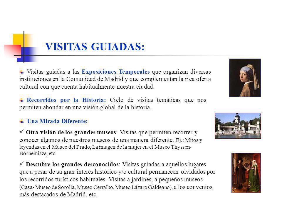 VISITAS GUIADAS: