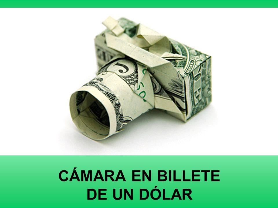 CÁMARA EN BILLETE DE UN DÓLAR