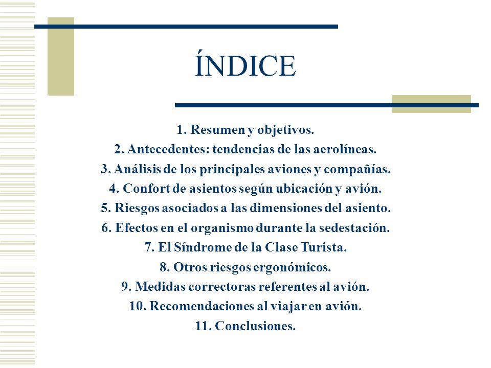 ÍNDICE 1. Resumen y objetivos.