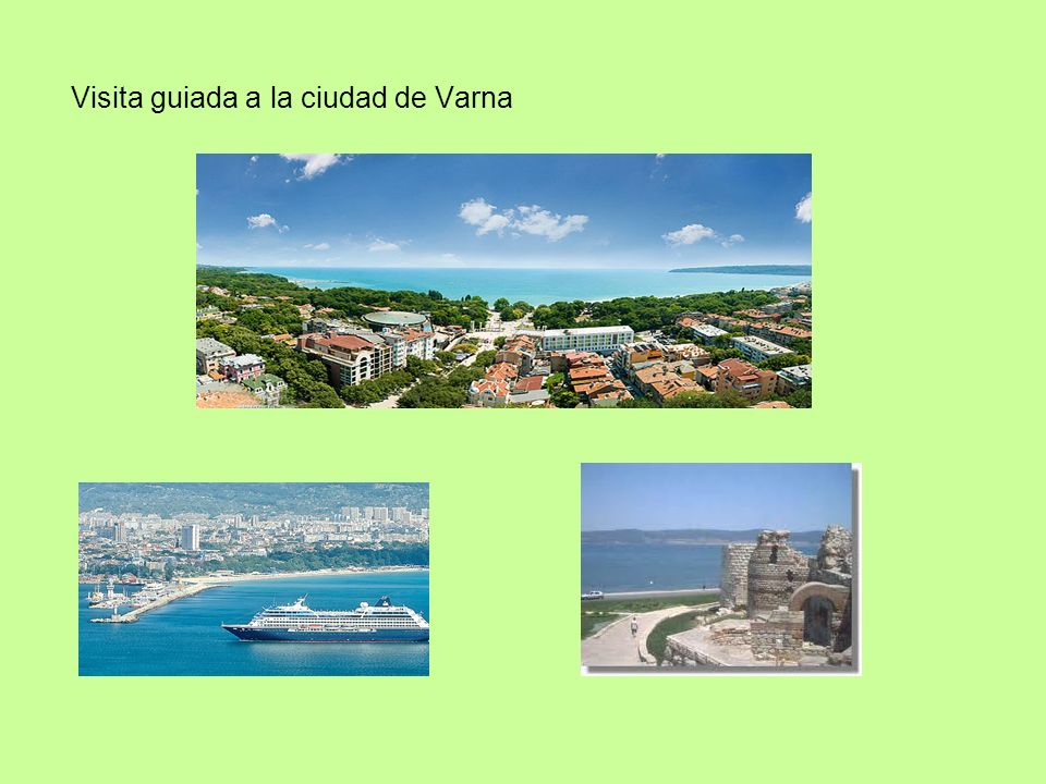 Visita guiada a la ciudad de Varna