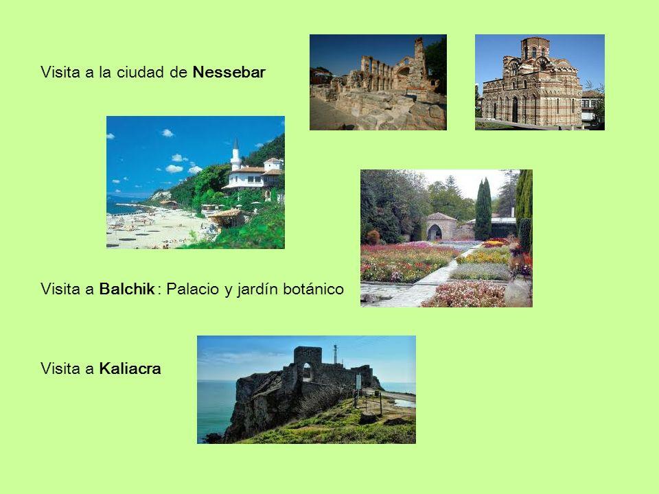 Visita a la ciudad de Nessebar