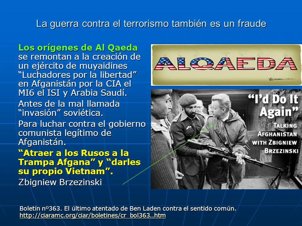 La guerra contra el terrorismo también es un fraude