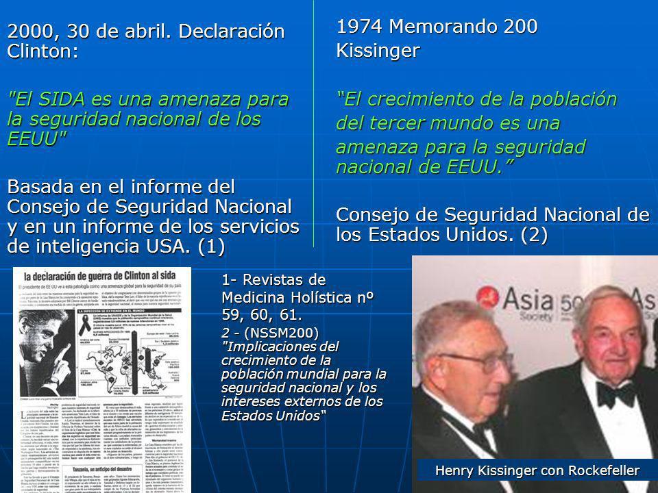 Henry Kissinger con Rockefeller