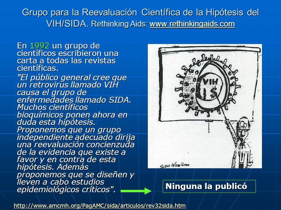 Grupo para la Reevaluación Científica de la Hipótesis del VIH/SIDA