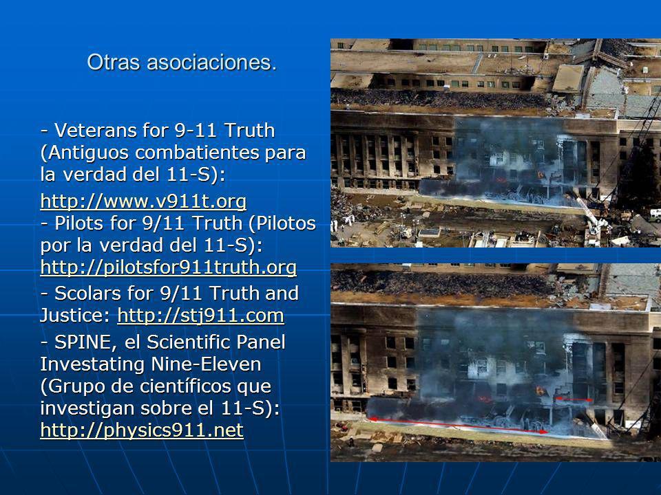 Otras asociaciones. - Veterans for 9-11 Truth (Antiguos combatientes para la verdad del 11-S):