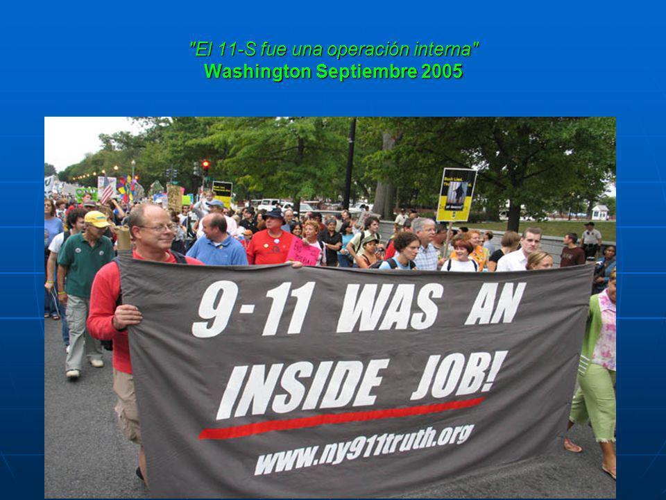 El 11-S fue una operación interna Washington Septiembre 2005