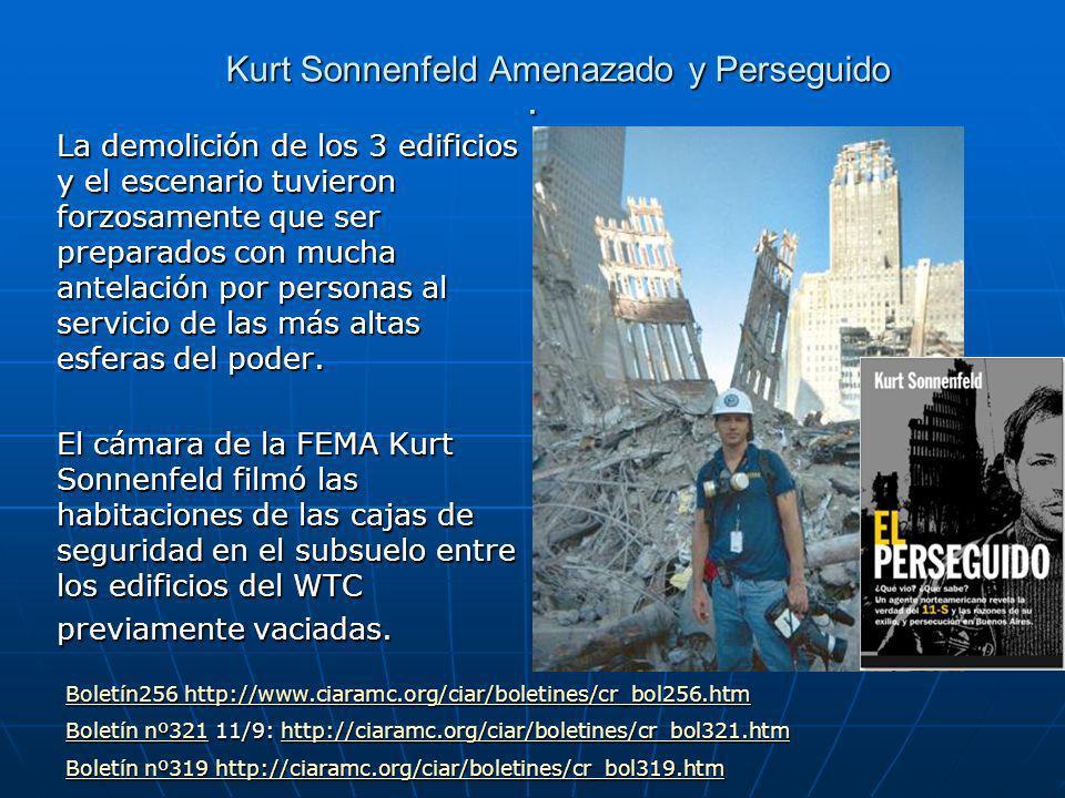 Kurt Sonnenfeld Amenazado y Perseguido