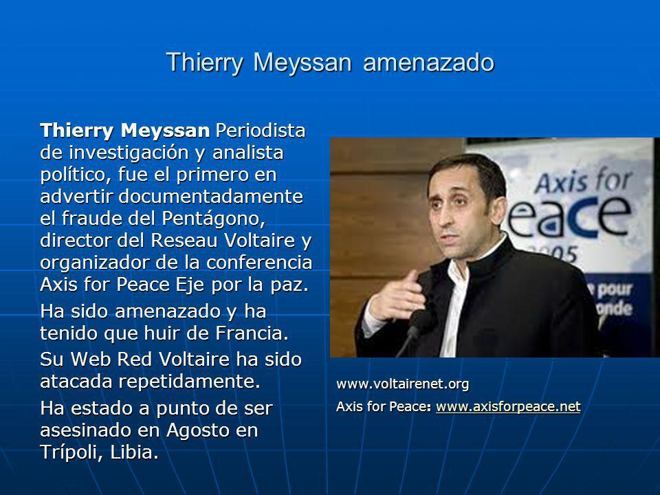 Thierry Meyssan amenazado