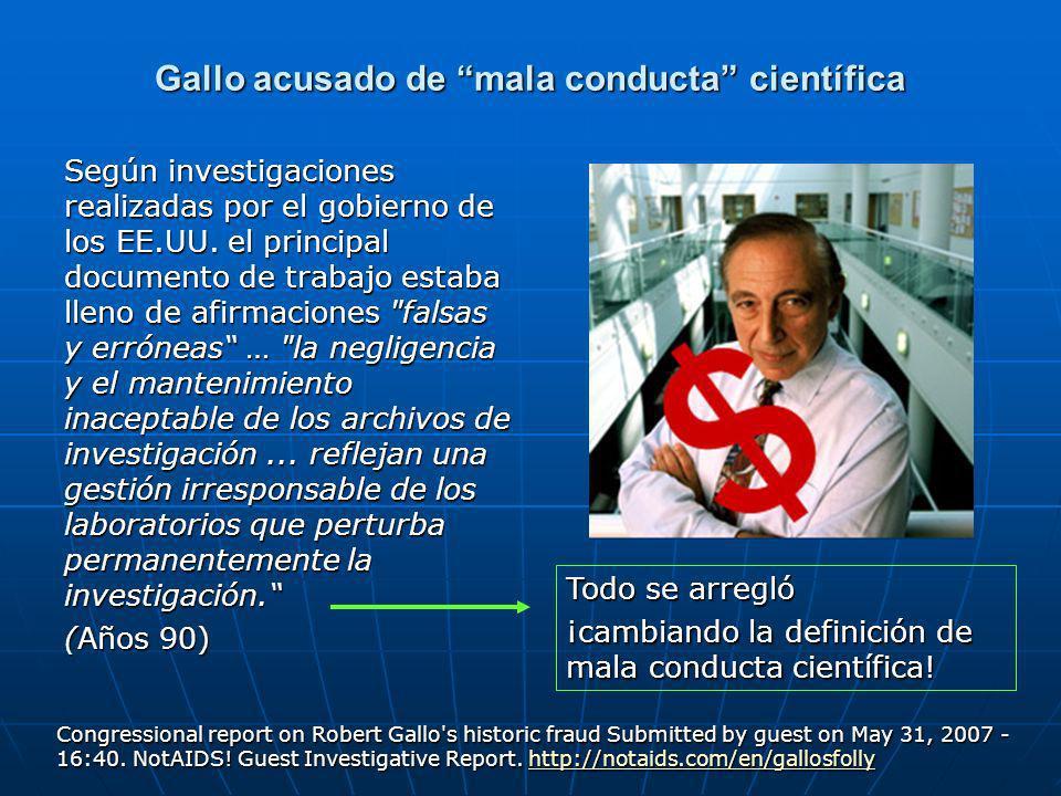 Gallo acusado de mala conducta científica