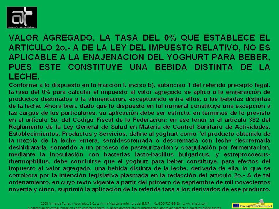 2008 Almanza Torres y Asociados, S. C