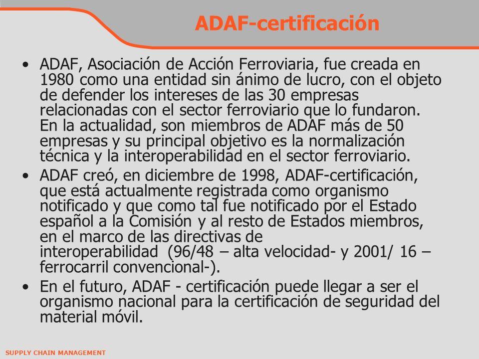 ADAF-certificación