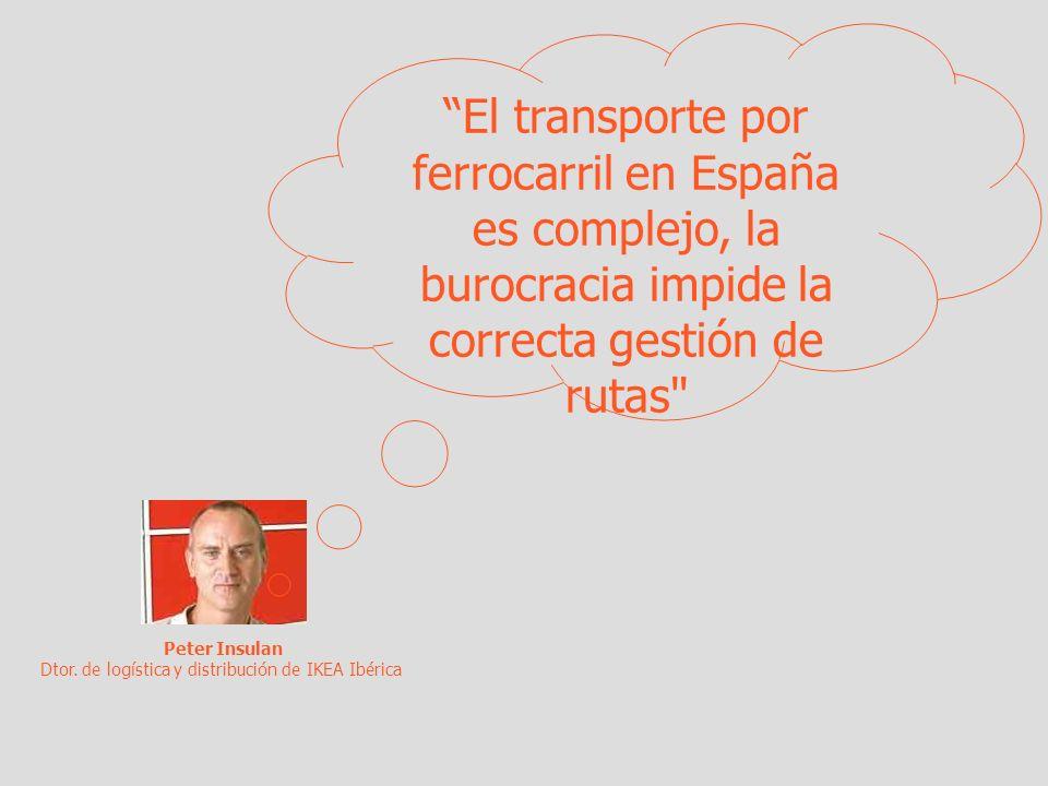 Peter Insulan Dtor. de logística y distribución de IKEA Ibérica