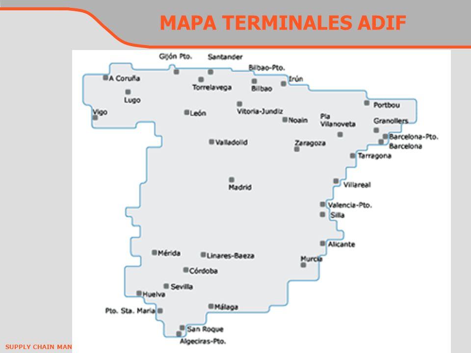 MAPA TERMINALES ADIF