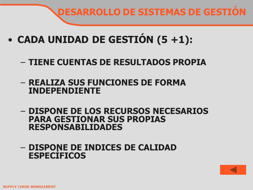 DESARROLLO DE SISTEMAS DE GESTIÓN