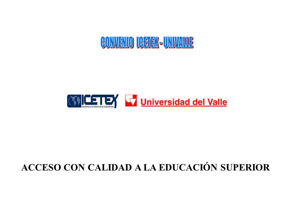 CONVENIO ICETEX - UNIVALLE