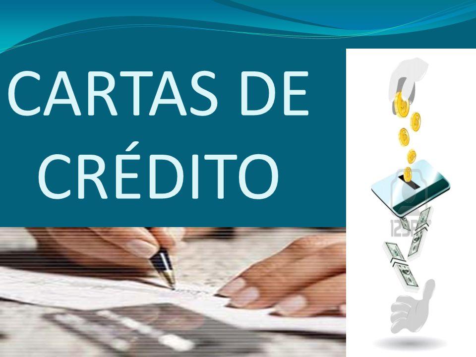 CARTAS DE CRÉDITO