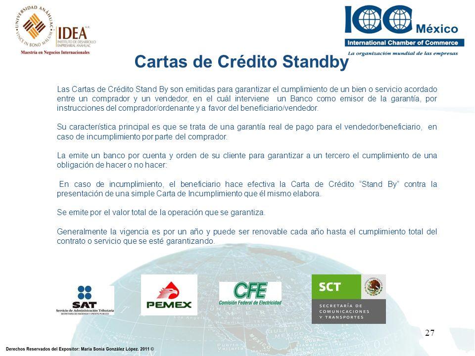 Cartas de Crédito Standby