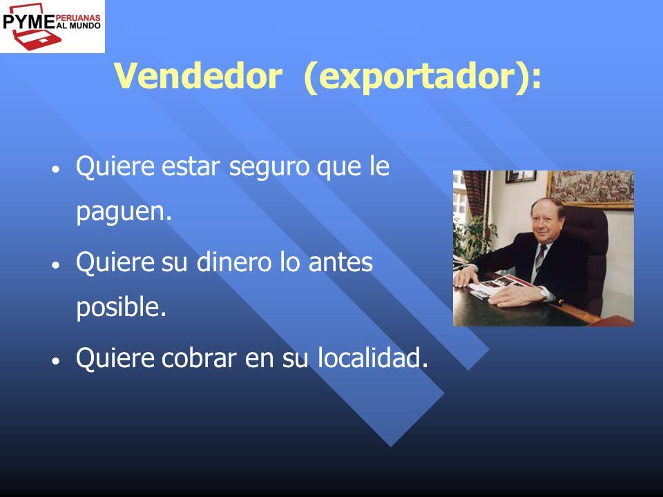 Vendedor (exportador):