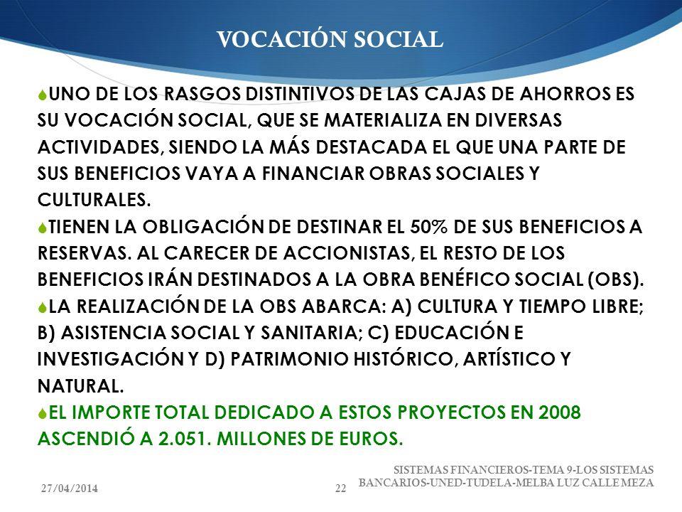 VOCACIÓN SOCIAL