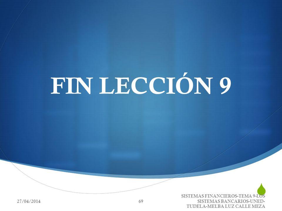 FIN LECCIÓN 929/03/2017.