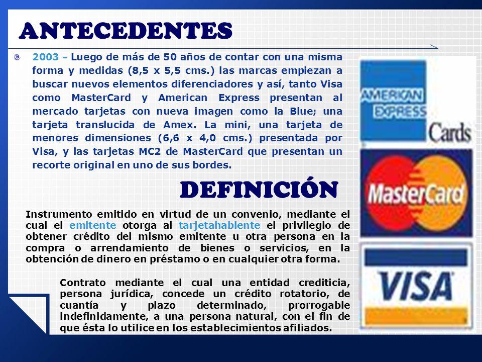 ANTECEDENTES DEFINICIÓN
