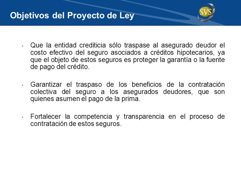 Objetivos del Proyecto de Ley