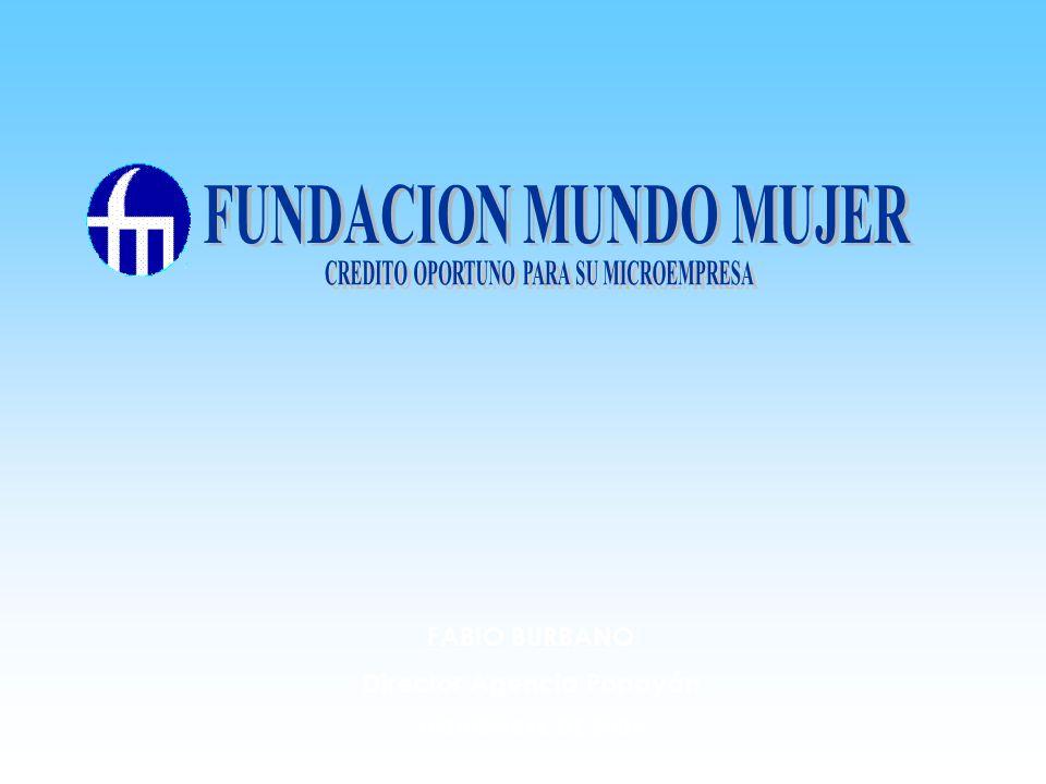 CREDITO OPORTUNO PARA SU MICROEMPRESA Director Agencia Popayán