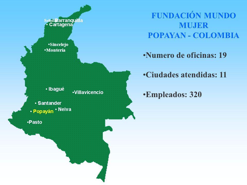 FUNDACIÓN MUNDO MUJER POPAYAN - COLOMBIA