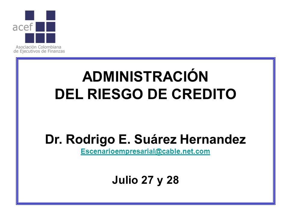 Dr. Rodrigo E. Suárez Hernandez