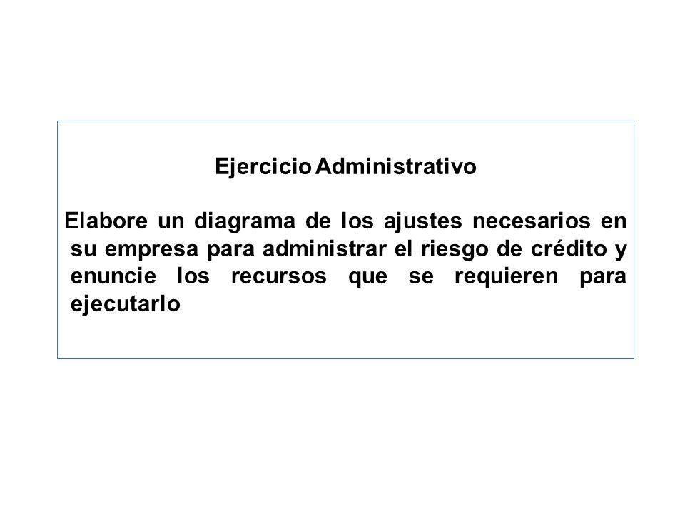 Ejercicio Administrativo