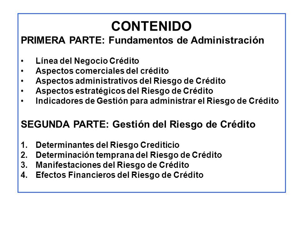 CONTENIDO PRIMERA PARTE: Fundamentos de Administración