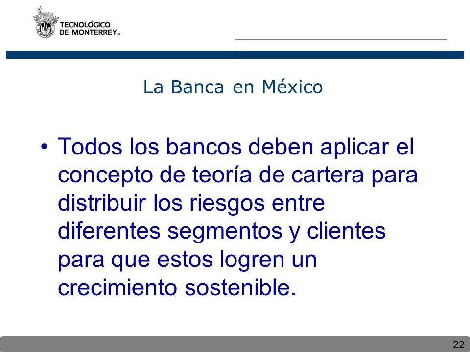 La Banca en México