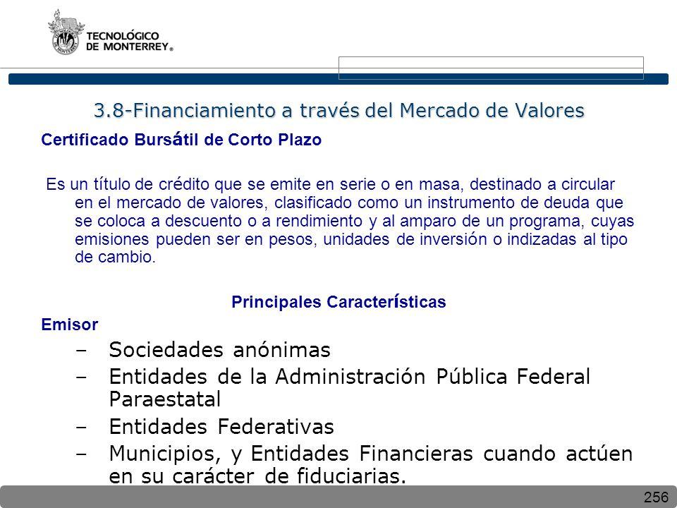 3.8-Financiamiento a través del Mercado de Valores