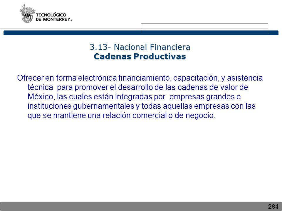 3.13- Nacional Financiera Cadenas Productivas