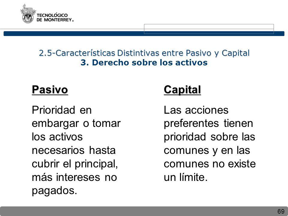 2. 5-Características Distintivas entre Pasivo y Capital 3