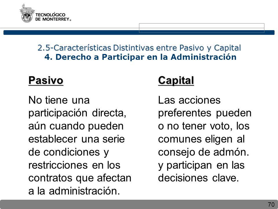 2. 5-Características Distintivas entre Pasivo y Capital 4