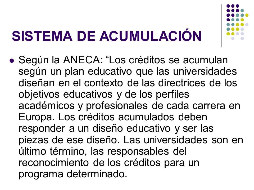 SISTEMA DE ACUMULACIÓN