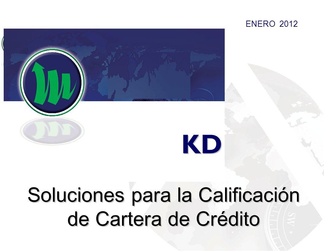 Soluciones para la Calificación de Cartera de Crédito