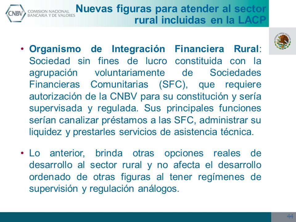 Nuevas figuras para atender al sector rural incluidas en la LACP